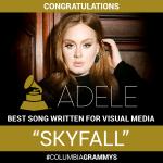 """And the Grammy goes to… Adele"" Już po raz 10!"