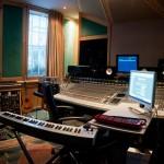 Adele w studiu nagraniowym RAK z Diane Warren!
